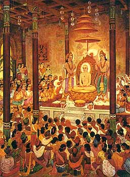 Mahavira's Sermon