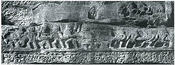 Earliest Image of Samudra Manthan, ca 300 AD