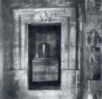 Sanctum of a Hindu Temple