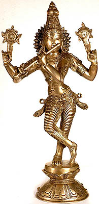 Shri Krishna as Vishnu (Narayana)