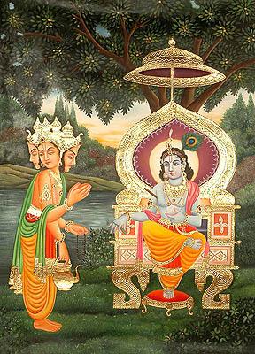 Shri Krishna Stuti by Lord Brahma (from Shrimad Bhagavata Purana)