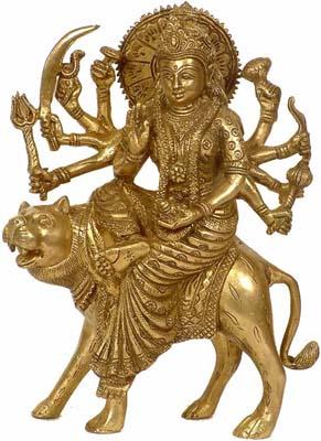 Simhavahani Mother Goddess Durga (Sheran Wali Mata)