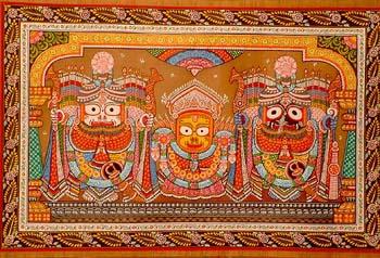 Sri Jagannatha at Puri