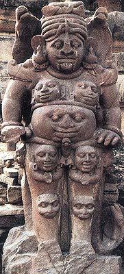 Shiva's Thousand Eyed Anthropomorphic Form Talagaon (Bilaspur)