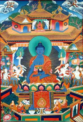 Buddha of Medicine: Blue Buddha