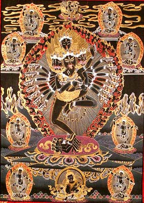 Father Mother Thangka Paintings