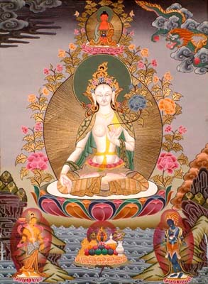 The Goddess White Tara