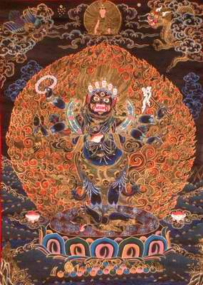 Six Armed Mahakala
