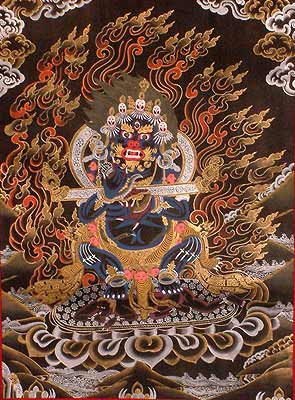 Mahakala's Vow to Protect the Monastery of Nalanda