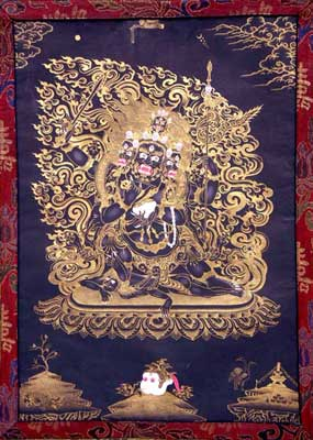 Four Headed Mahakala