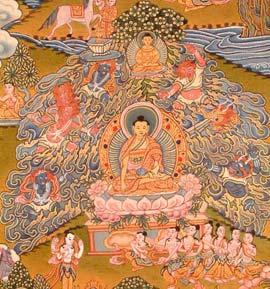Mara's Challenge to Buddha