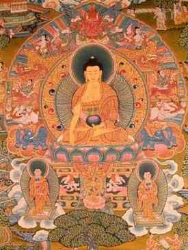 Buddha with Shariputra and Maudgalyayana