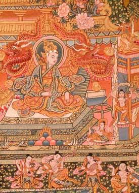 Shudhodhana Counsels Buddha
