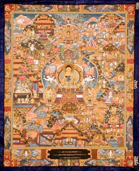The Life of Buddha and the Art of Narration in Buddhist Thangka Paintings