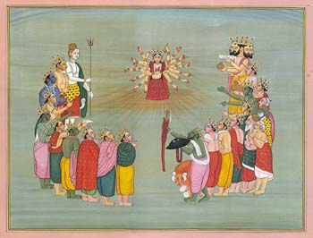 The Birth of Devi