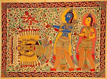 The Death of Ravana