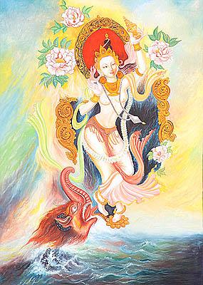 The Descent of Goddess Ganga