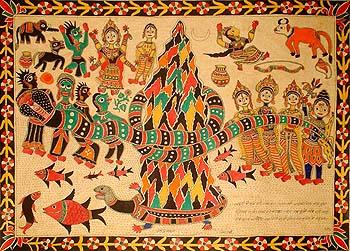 The Legend of Samudra-Manthana