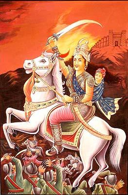 The Rebel Queen Of Jhansi