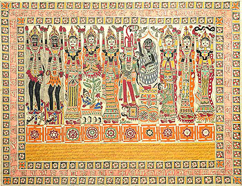 The Ten Mahavidyas with Yantras