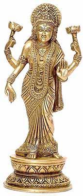 The Thrice Bent Lakshmi
