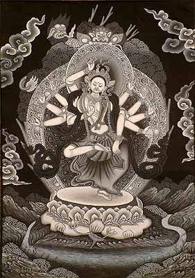 Ten-Armed Dancing Avalokiteshvara