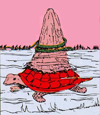 Tortoise Incarnation of Lord Vishnu