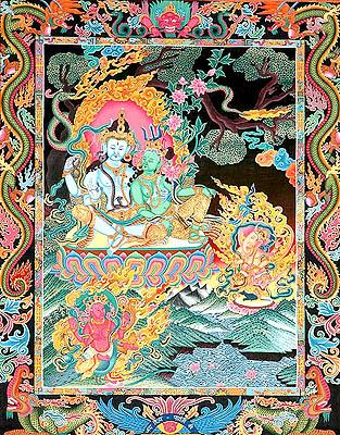Uma Maheshwara with Ganesha and Karttikeya