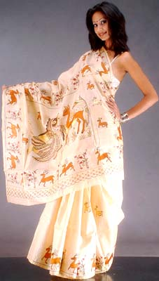 Kantha Saris