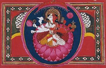 Ardhanarisvara Vishnu+Lakshmi (Kashmir Style)