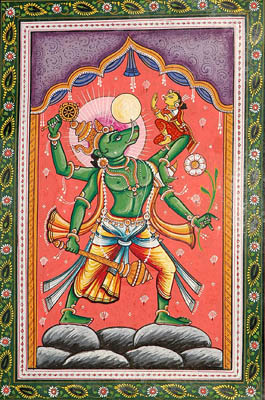 Varaha Avatara (The Ten Incarnations of Lord Vishnu)