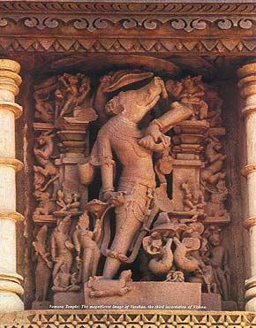 Image of Varaha from Khajuraho