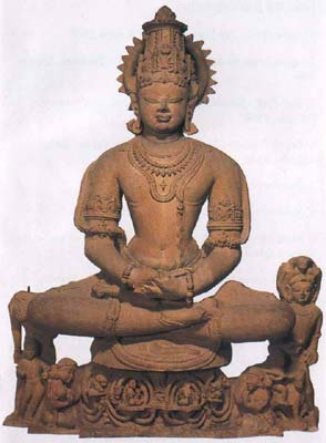 Vishnu as Yoga-Narayana