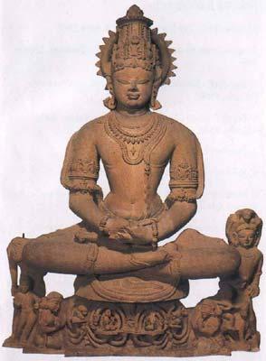 Vishnu as Yoga-Narayana