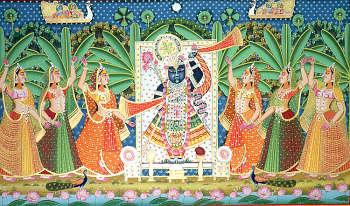Worshipping Shri Nath Ji
