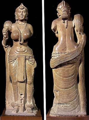Yakshi from Didarganj (ca 300 B.C.)