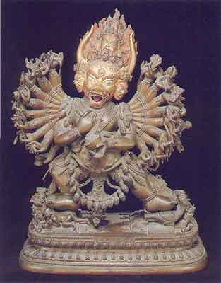 Yamantaka - Nepalese Sculpture