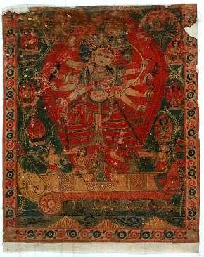 Yellow Tara Kashmir Style, 18th Century