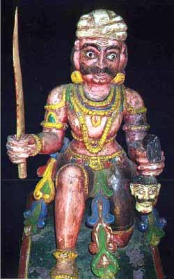 Hindu Demon Mahisasura
