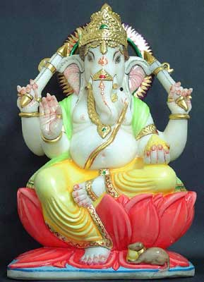 Lord Ganesha - son of Goddess Parvati and Lord Shiva