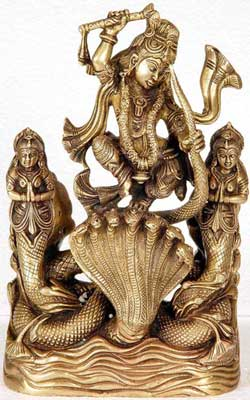Krishna Vanquishes Kaalia