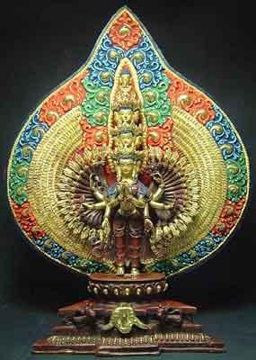Eleven Headed Thousand Armed Avalokiteshwara