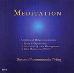 Meditation: A Series of Three Discourses (MP3)