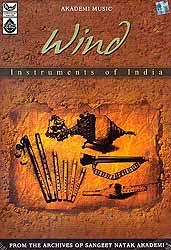 Wind Instruments of India (From the Archives of Sangeet Natak Akademi) (Audio CD)