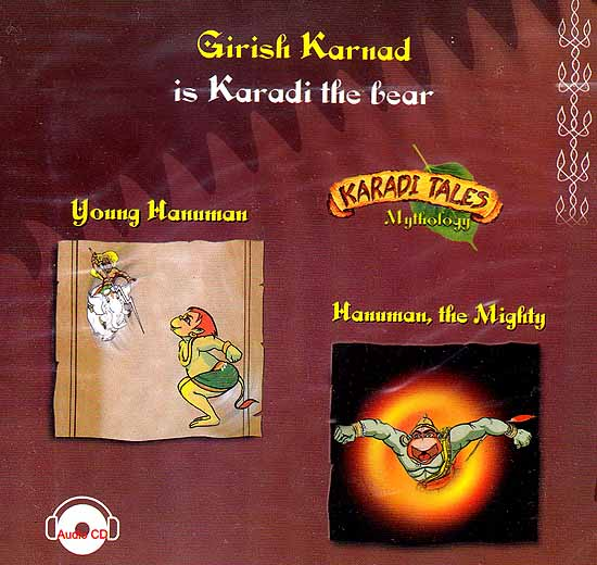 Young Hanuman, Hanuman, The Mighty (Karadi Tales Mythology) (Audio CD with Two Booklets)): Audiobook for Children