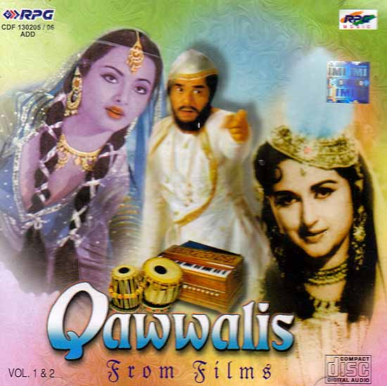 Qawwalis From Films (Vol. 1 & 2 Audio CD)