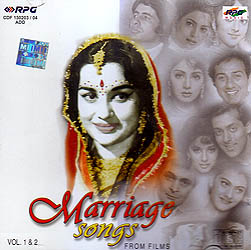Marriage Songs From Films: Vol. 1& 2 (Audio CD)