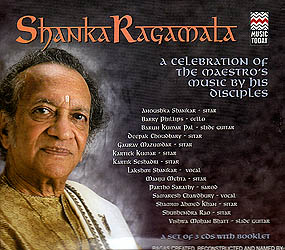 Shankaragamala: A Celebration of The Maestro's Music By His Disciples (Set of 3 Audio CDs)
