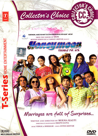 Honeymoon Travels Pvt. Ltd. (DVD)
