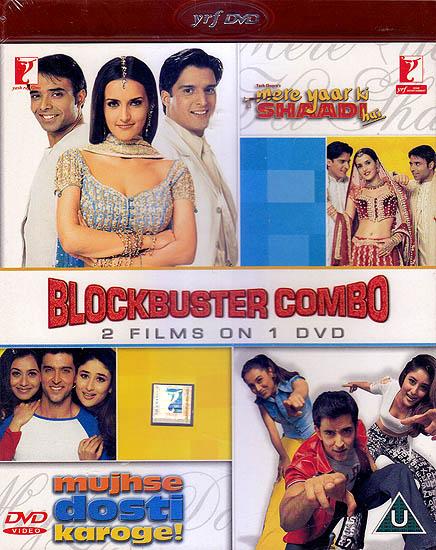 Blockbuster Combo 2 Films On 1 DVD (Mere Yaar Ki Shaadi ...